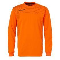 Maillot de Gardien Junior Uhlsport Match Orange Fluo Noir 2014