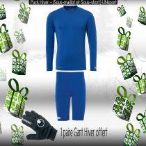 Pack Sous-vêtements Junior Uhlsport Bleu Azur