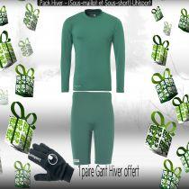 Pack Sous-vêtements Junior Uhlsport Vert Lagon