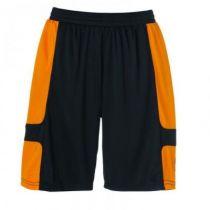 Short Junior Uhlsport Cup Noir/Orange 2012