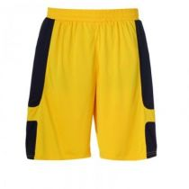 Short Uhlsport Junior Cup Jaune Mais/Noir