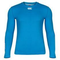 Sous-Vêtement Canterbury Cold Long Sleeve Top Cyan