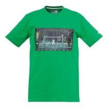 Tee-Shirt  Junior Matrix Vert Uhlsport 2015