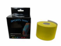 Bande de Kinésiologie Sports Tape Jaune sur la boutique du gardien BDG