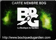 Avec la Carte Membre BDG, obtenez des privilèges et de nombreux avantages pendant 1 an, (port gratuit, retour gratuit)