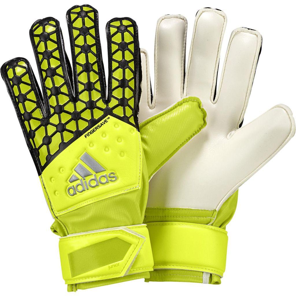 Gants Adidas Junior Ace Fingersave (avec barettes) 2015 sur la boutique du gardien BDG. Loading zoom