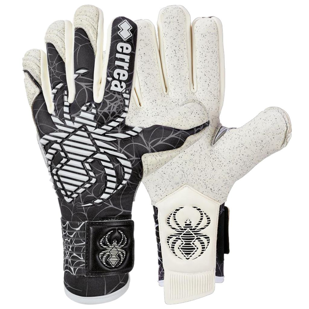 Gants Errea Junior Spyder Celebration Noir Blanc