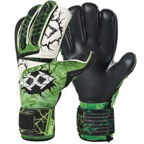 Gants Errea Junior Zero The Wall Vert Fluo Noir