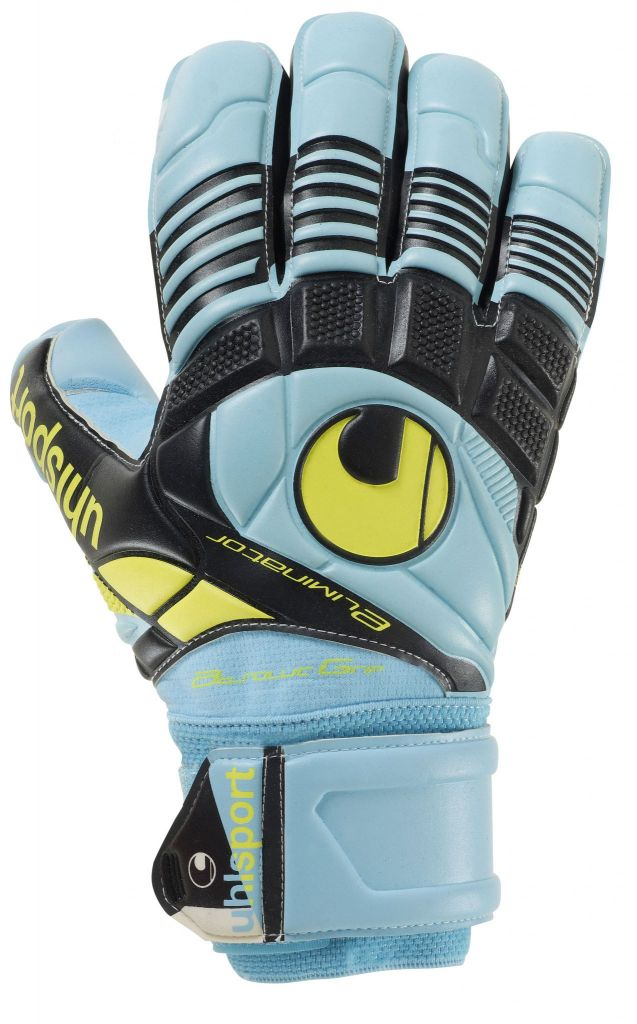 Gants Uhlsport Eliminator Iceblue Absolutgrip HN 2015 sur la boutique du gardien BDG