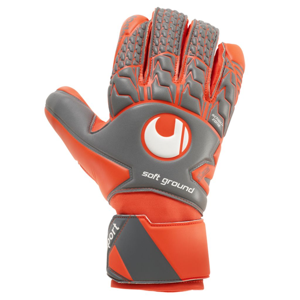 Gants Uhlsport Junior Aerored Soft HN Comp 2018