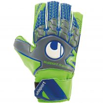 Gants Uhlsport Junior Tensiongreen Soft SF (avec barrettes) 2018