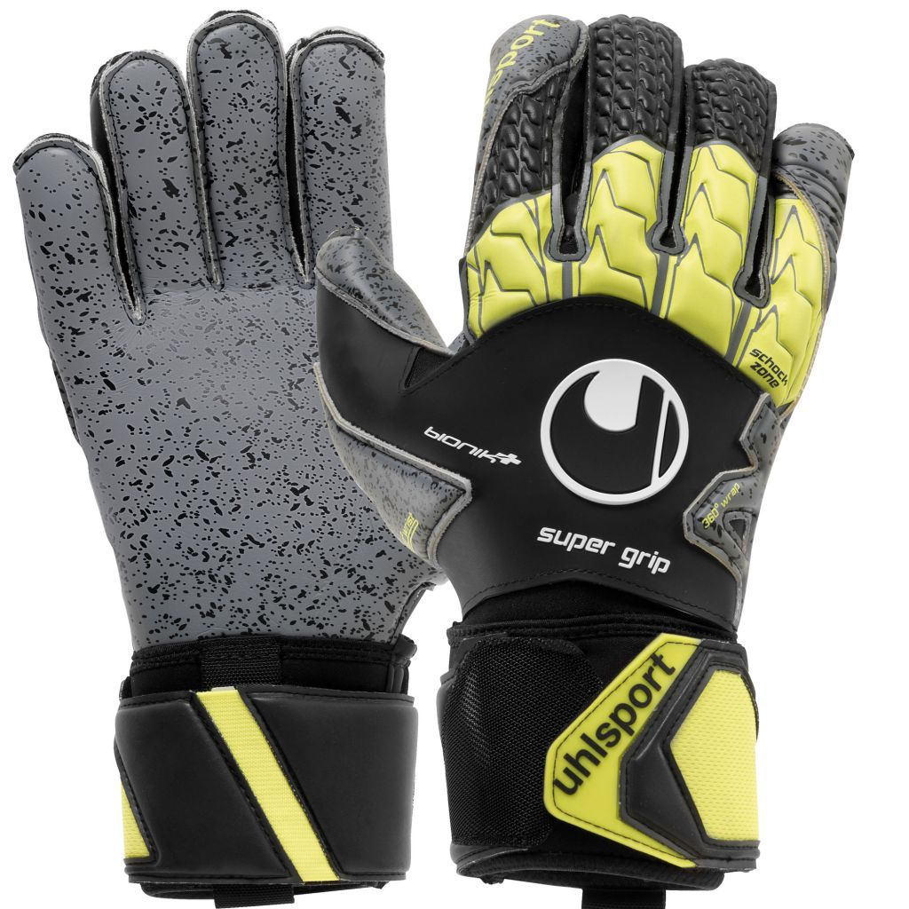 Gants Uhlsport Supergrip Bionik+ (barettes) 2018