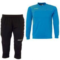 Kit gardien junior Uhlsport Match Cyan 2014