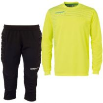 Kit gardien junior Uhlsport Match Jaune Paille 2014