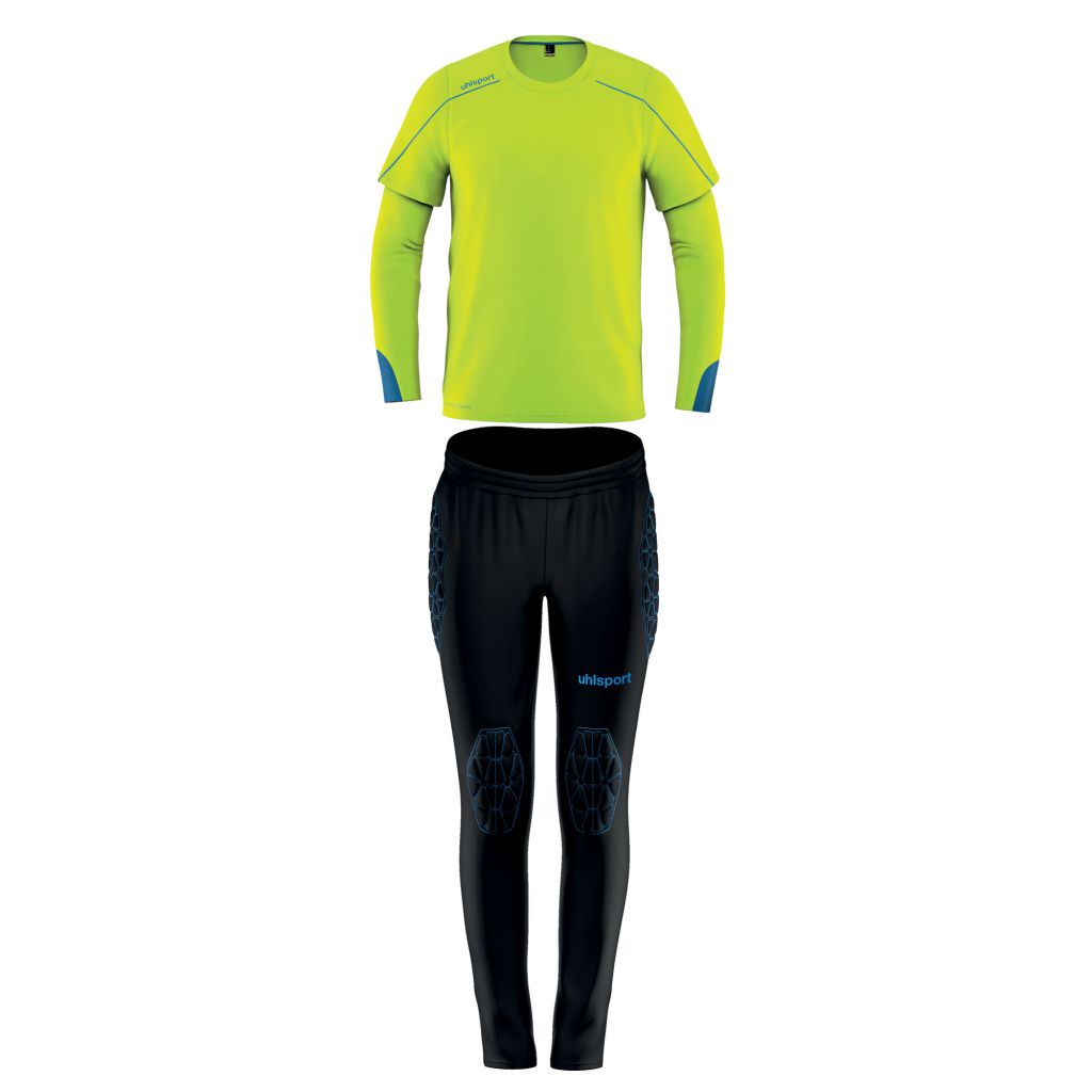 Kit Gardien Junior Uhlsport Stream 22 Jaune Fluo