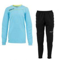 Kit gardien junior Uhlsport Stream Iceblue 2015 vendu sur la boutique du gardien BDG