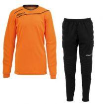 Kit gardien junior Uhlsport Stream Orange/Noir 2015 vendu sur la boutique du gardien BDG