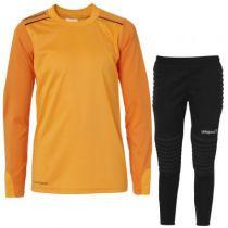 Kit gardien junior Uhlsport Tower Orange 2016 vendu sur la boutique du gardien BDG