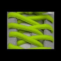 Lacets Sport Ovale Neon Fluo Jaune sur la boutique du gardien BDG
