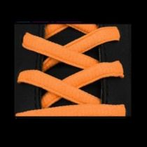 Lacets Sport Ovale Neon Fluo Orange