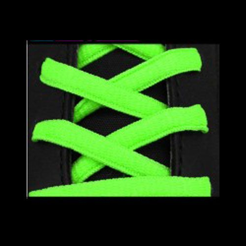 Lacets Sport Ovale Neon Fluo Vert sur la boutique du gardien BDG