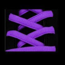 Lacets Sport Ovale Neon Violet