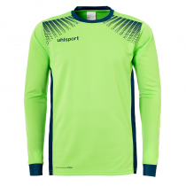 Maillot de gardien Junior Uhlsport Goal ML Vert Flash Pétrole