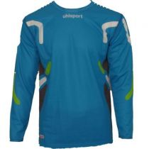 Maillot de Gardien Junior Uhlsport Hugo Lloris Cyan 2013