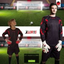Maillot de Gardien Junior Uhlsport Hugo Lloris Noir 2013