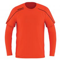 Maillot de Gardien Junior Uhlsport Stream 22 Rouge Fluo