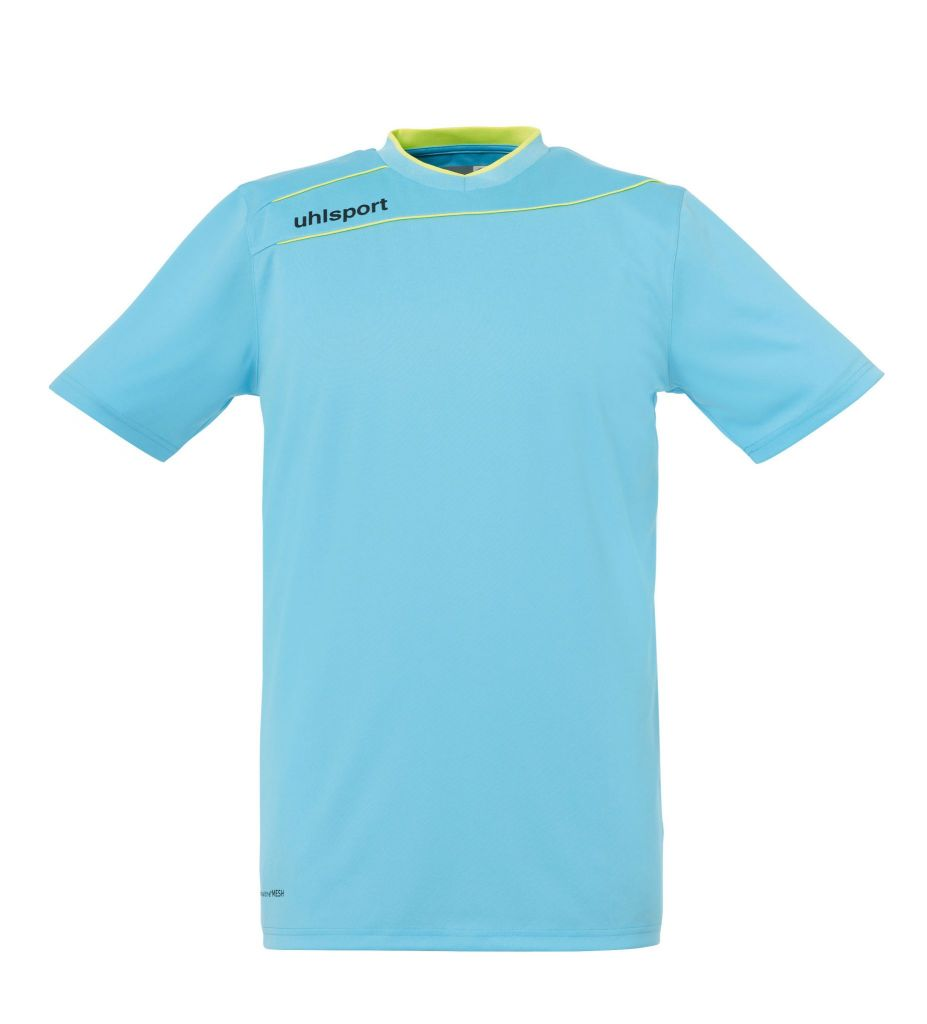 Maillot de Gardien Junior Uhlsport Stream Iceblue MC 2015 vendu sur la boutique du gardien BDG