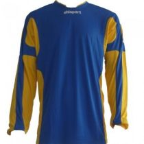 Maillot Gardien Junior Uhlsport Cup Azur/Jaune ML 2012