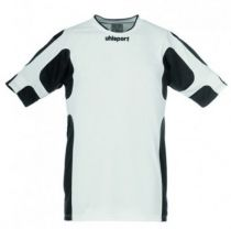 Maillot Gardien Junior Uhlsport Cup Blanc/Noir MC 2012