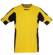 Maillot Gardien Junior Uhlsport Cup Jaune Mais/Noir MC 2012