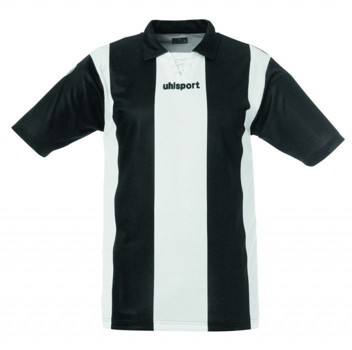 Maillot Gardien Junior Uhlsport Stripe Blanc/Noir MC 2012