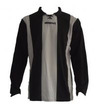 Maillot Gardien Junior Uhlsport Stripe Blanc/Noir ML 2012