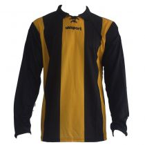 Maillot Gardien Junior Uhlsport Stripe Jaune Mais/Noir MC 2012