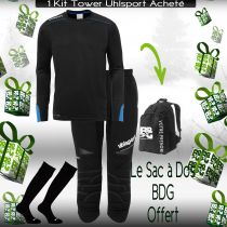 Pack 3/4 Tower Noir Uhlsport