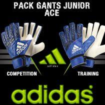 Pack Gants Junior Ace Adidas