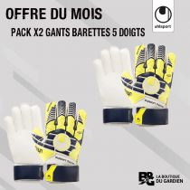 Pack Gants Junior Barettes Uhlsport