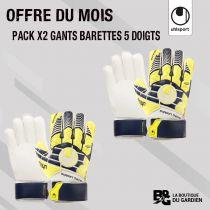 Pack Gants Junior Barettes Uhlsport