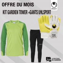 Pack Junior Kit Tower + Gants Uhlsport