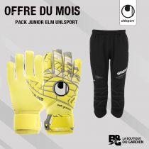 Pack Junior Uhlsport Gants + Pantalon 3/4