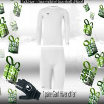 Pack Sous-vêtements Junior Uhlsport Blanc