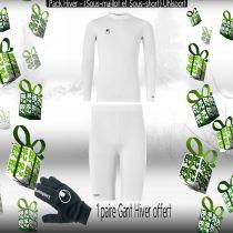Pack Sous-vêtements Junior Uhlsport Blanc
