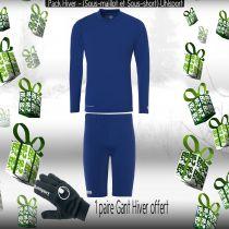 Pack Sous-vêtements Junior Uhlsport Bleu Royal