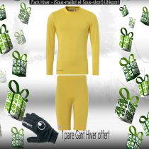 Pack Sous-vêtements Junior Uhlsport Jaune