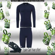 Pack Sous-vêtements Junior Uhlsport Marine