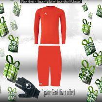 Pack Sous-vêtements Junior Uhlsport Rouge