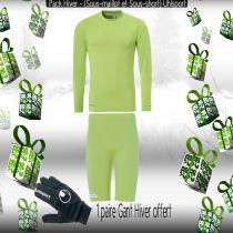 Pack Sous-vêtements Junior Uhlsport Vert Flash